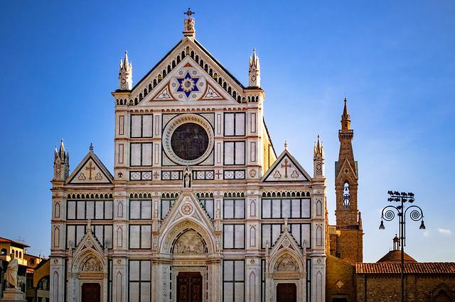Basilica, Cathedral, Church, Catholic, Santa Croce