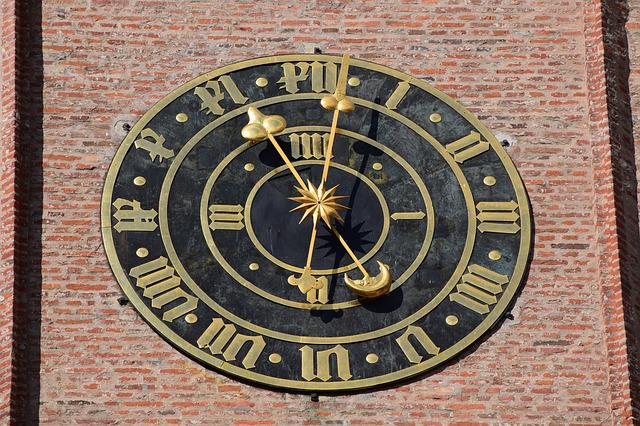 Clock, Church Clock, Clock Tower, Time Of, Church