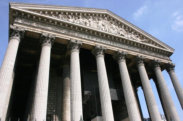 Madeleine, Columns, Church, Paris