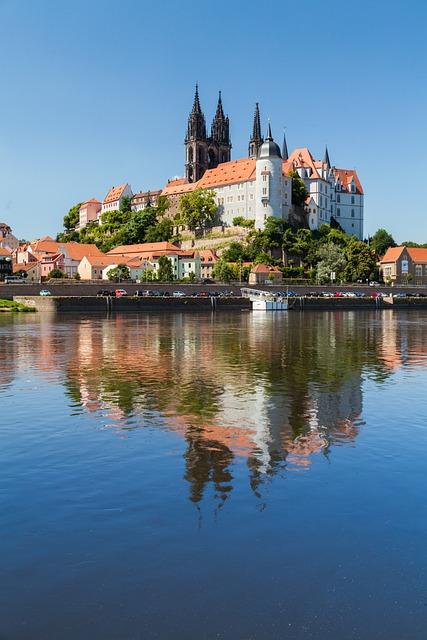 Meissen, City, Castle, Dom, Church, Castle Hill