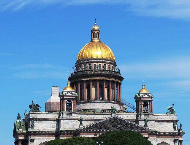 Architecture, Church Dome, St Petersburg