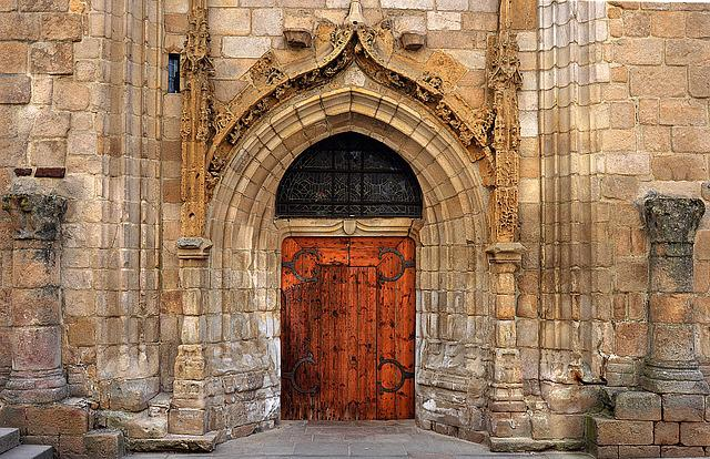 Church, Door, Church Door, Old Stones