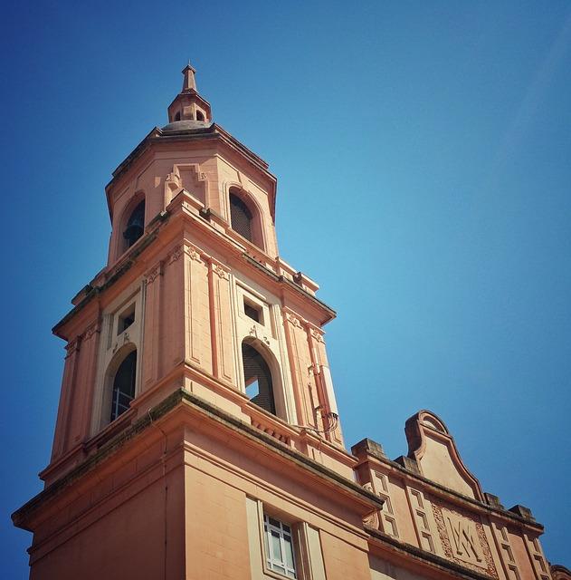 Church, Bell Tower, Barakaldo, Architecture, Euskadi