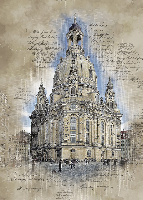 Dresden, Frauenkirche, Germany, Church, Old Town