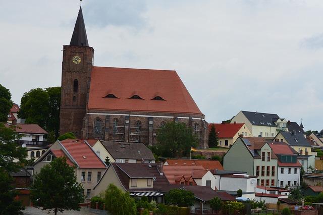 Church, Nikolai Church, Fürstenberg, Brandenburg