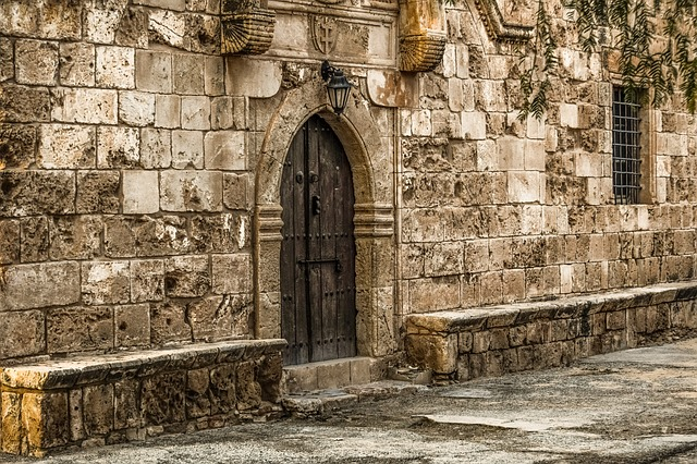 Architecture, Old, Stone, Wall, Ancient, Gate, Church