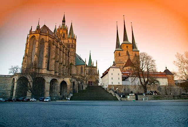 Erfurt, Thuringia Germany, Germany, Dom, Church