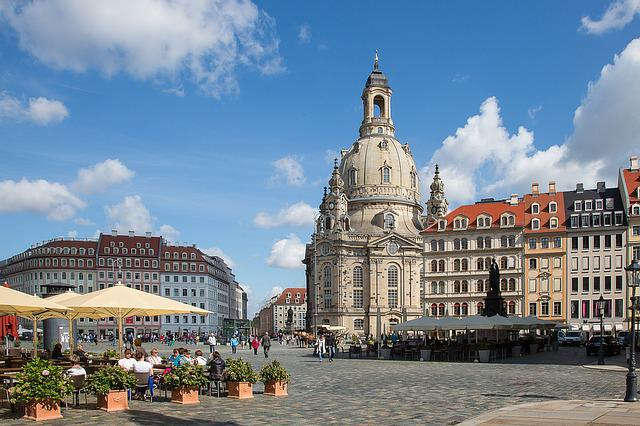 Dresden, Frauenkirche, Church, Germany, Old Town