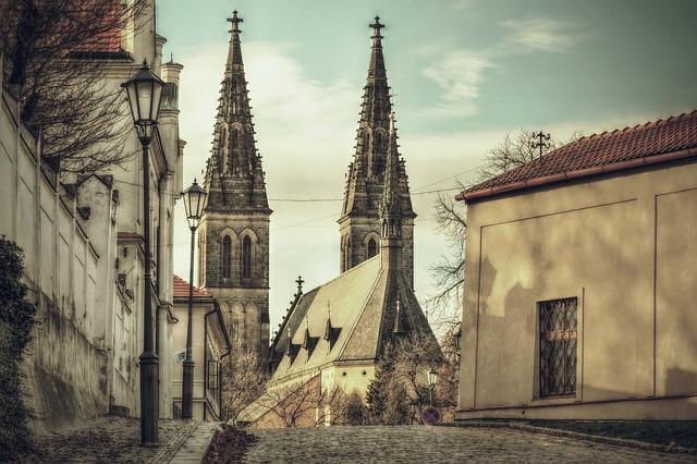 Street, City, Architecture, History, Alley, Church