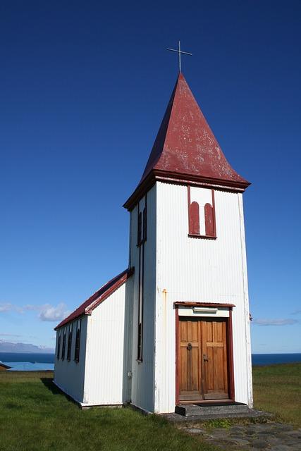 Iceland, Church, Christianity, Nature, Religion