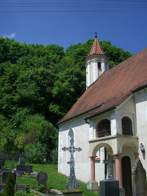 Church, St Ulrich, Lonetal, Swabian Alb