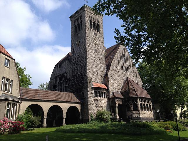Bochum, Luther Church, Church