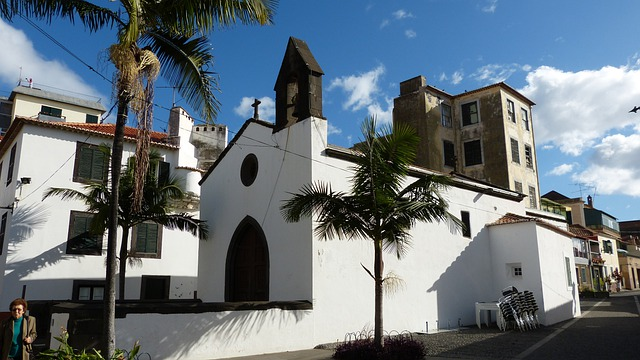 Madeira, Funchal, Portugal, Church
