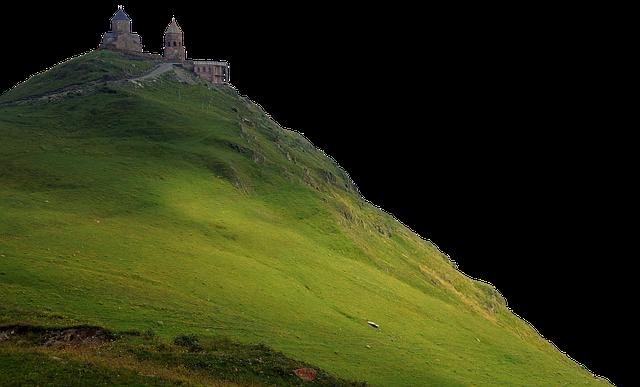 Monastery, Mountain, Top, Hill, Rock, Romantic, Church