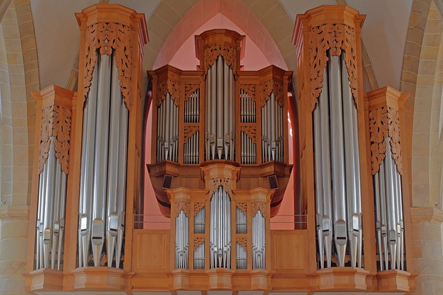 Organ, Church Organ, Hillebrand, Meppen, Church Music