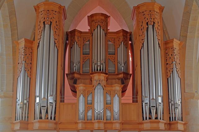 Organ, Church Organ, Hillebrand, Meppen, Church Music
