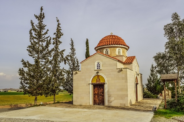Cyprus, Nissou, Church, Architecture, Orthodox