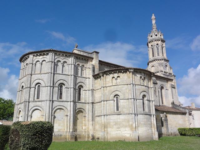 Bayon Sur Gironde, Notre Dame, Church, Building