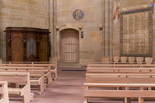 Trier, Church Of Our Lady, Confessional
