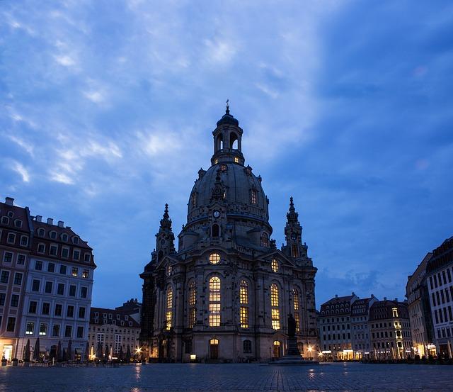 Dresden, Frauenkirche, Church, Saxony, Old Town