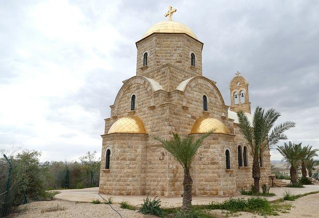 Jordan, Tourism, Baptism, Church, Orthodox, Jesus