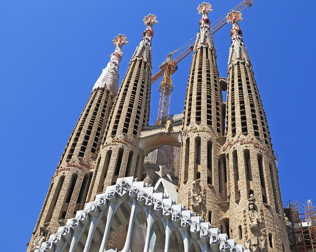 Barcelona, Cathedral, Church, Places Of Interest, Spain