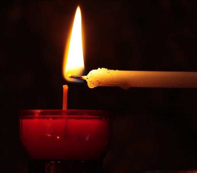 Candle, Tealight, Hand, Church, Light, Prayer