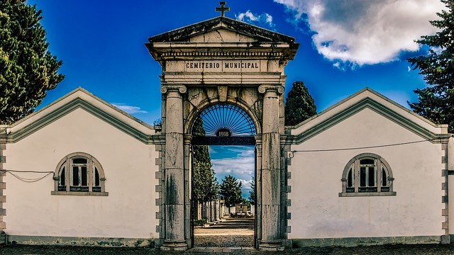 Graveyard, Cemetery, Architecture, Church, Religion