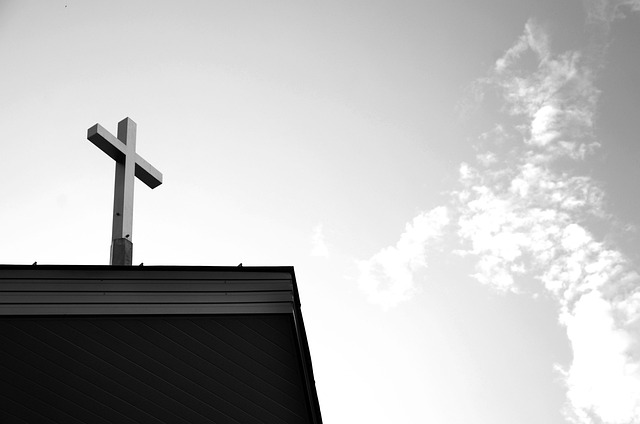Cross, Roof, Church, Architecture, Religion, Chapel