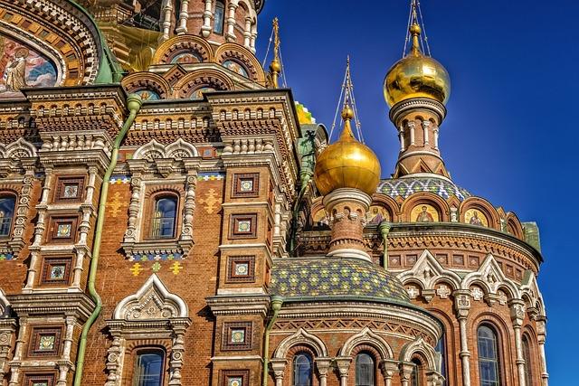 Church, Risen Church, Russia, St Petersburg