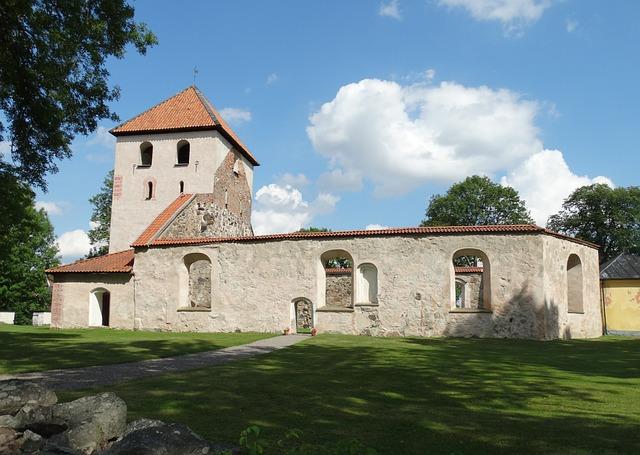 Church Ruin, Ruin, Antiquities, Björkvik, Sörmland