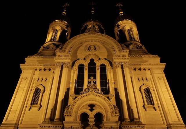 Wiesbaden, Russian Orthodox, Church, Neroberg