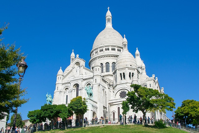 Sacré Coeur, Paris, France, Church, House Of Worship