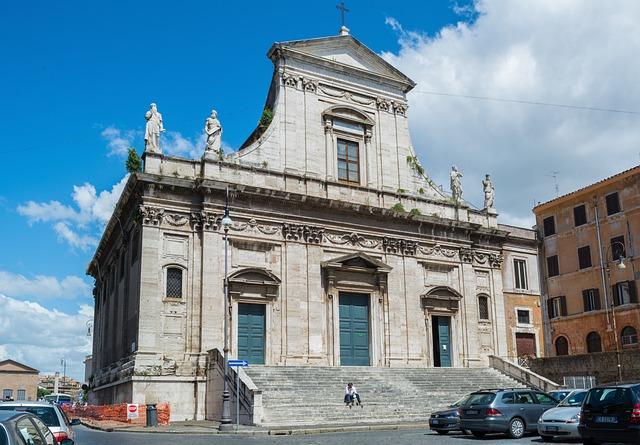Santa Maria Della Konsolatsione, Rome, Italy, Church