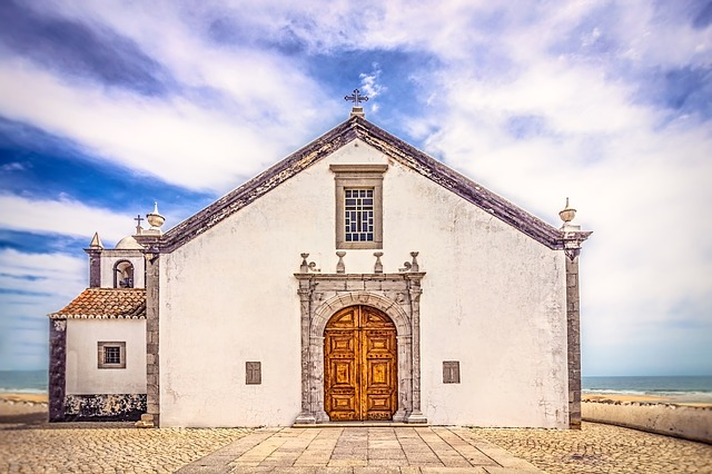 Church, Island, Architecture, Sky, Outdoors, House