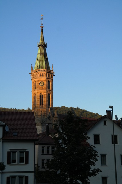 Steeple, Church, City Church