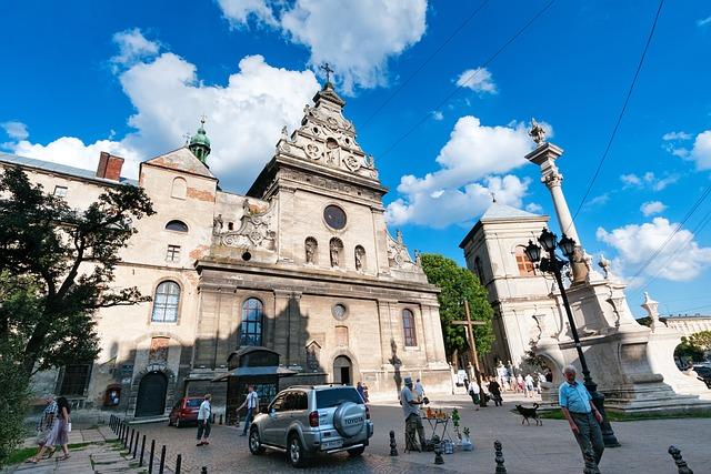 Church, Downtown, Historic Center, Lviv, Lvov, Ukraine