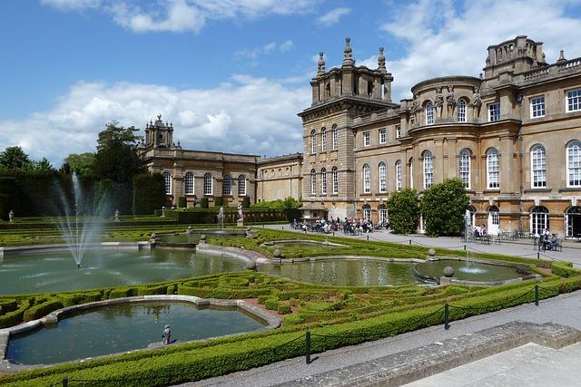 Blenheim Palace, Churchill, England, Palace