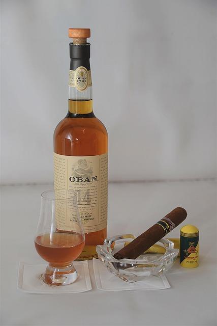 Whisky, Cigar, Boilermaker, Enjoy, Alcoholic