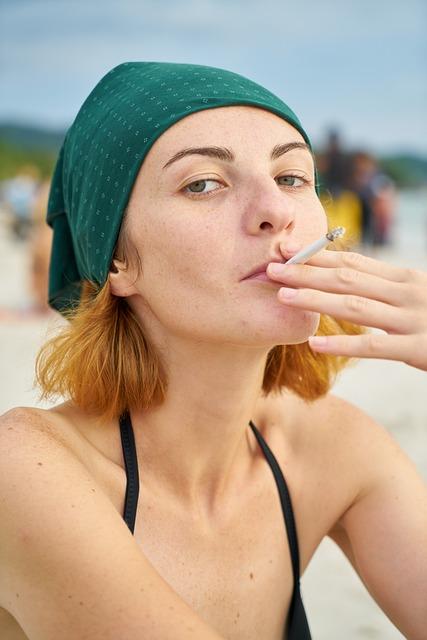 Model, Cigarette, Girl, Women's, Photography, Nicotine