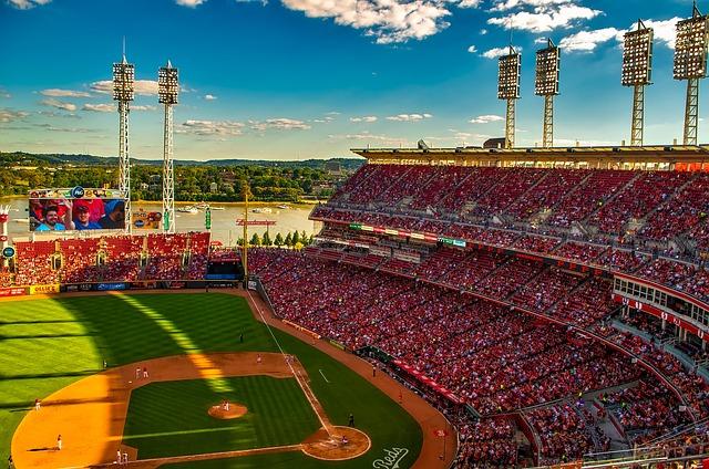 Great American Ballpark, Stadium, Cincinnati, Ohio