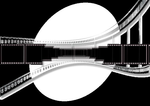 Cinema, Film, Filmstrip, Black, Video, Analog