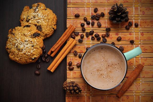 Coffee, Chocolate, Grains, Cinnamon, Cookies, Brown