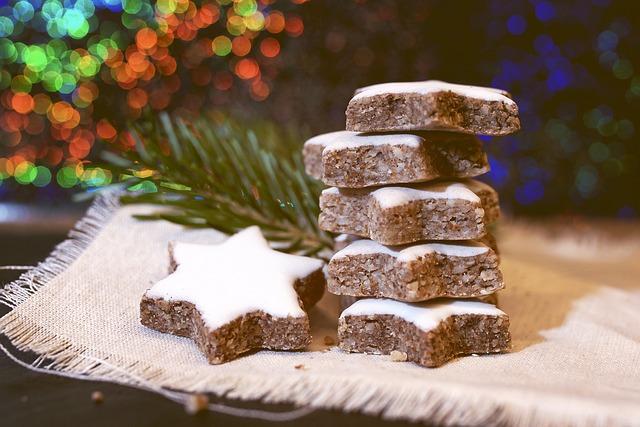 Christmas Cookies, Cinnamon Stars, Christmas Time