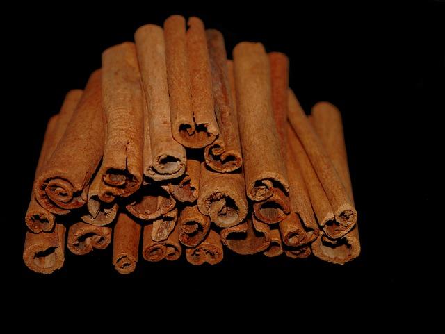 Cinnamon, Cinnamon Stick, Spice, Christmas, Brown Black