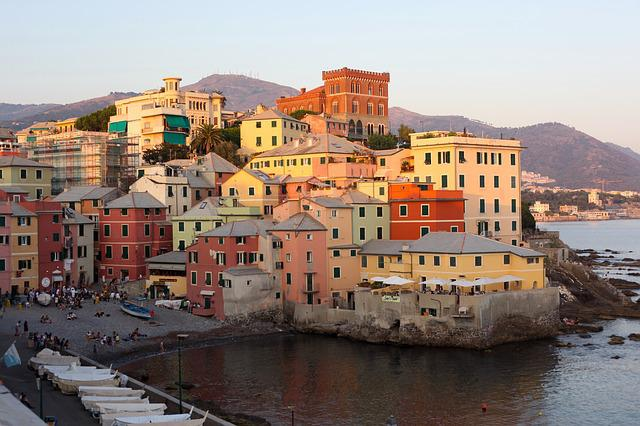 Boccadasse, Cinq Terre, Colourful Houses, Holiday
