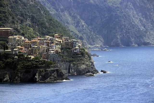 Italy, Heritage, Cliff, Costa, Cinque Terre