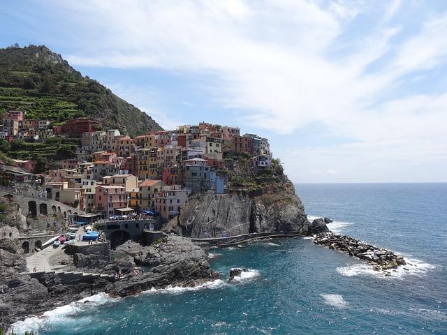 Manarola, Cinque Terre, Liguria, Italy, Coast