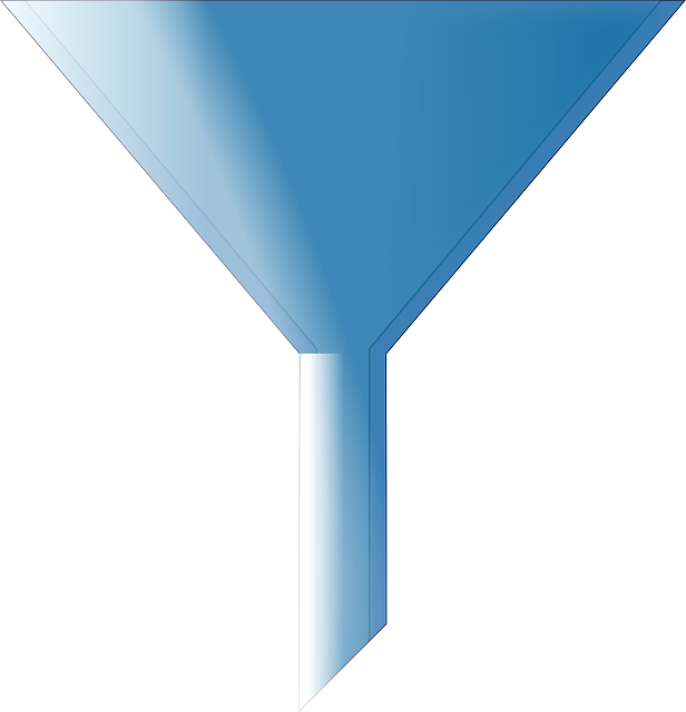 Funnel, Blue, Cone, Cipher