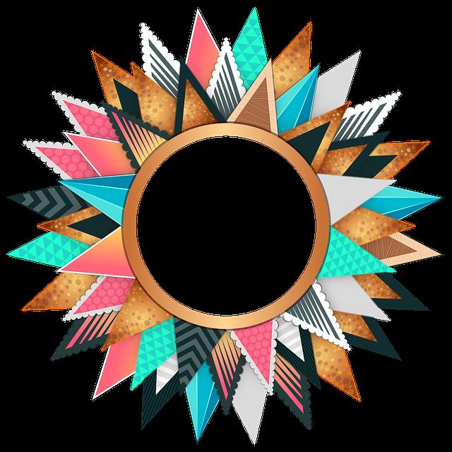Circle, Frame, Colorful, Design, Decorative, Border